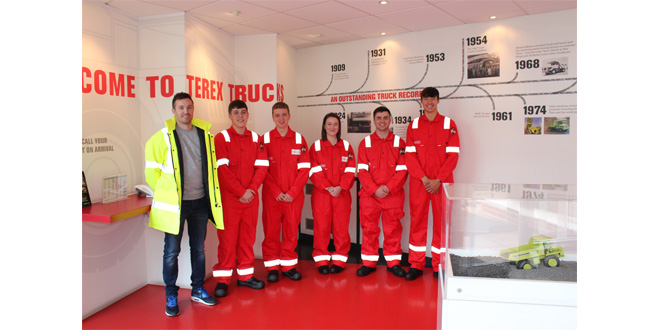 Trucks welcomes six new apprentices