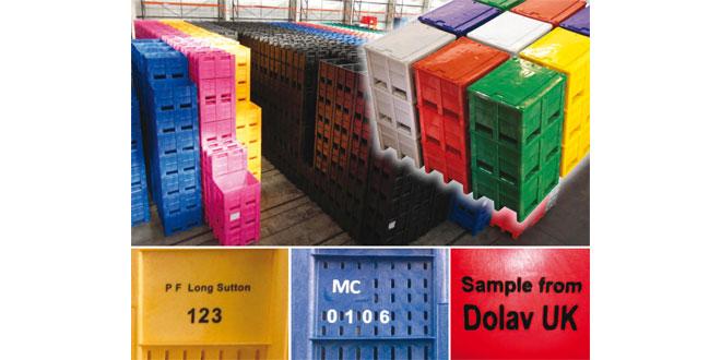 dolav plastic crates
