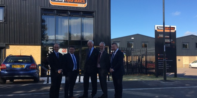 Lifting equipment manufacturer Penny Hydraulics opens new 2M GBP manufacturing plant