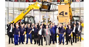 Many happy returns as JCB Loadall marks 40 years in production