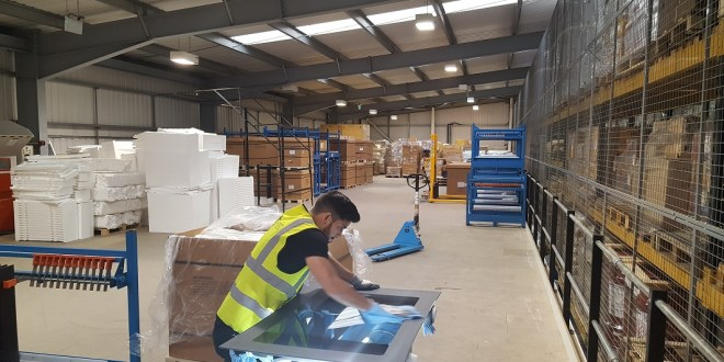 New Mezzanine Supports Business Growth For Birmingham Logistics Firm