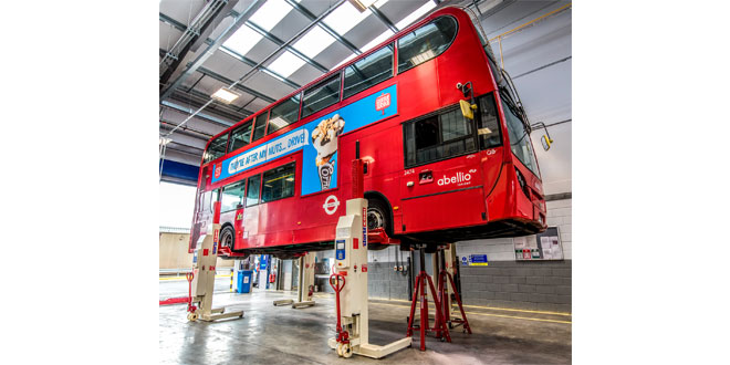 Previous success ensures Abellio London specifies Stertil Koni