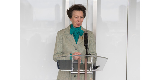 Transaid HRH The Princess Royal thanks industry for creating a sustainable model for road safety