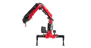 Fassi Gru presents the new F395A xe dynamic at the Bern Transport CH Fair