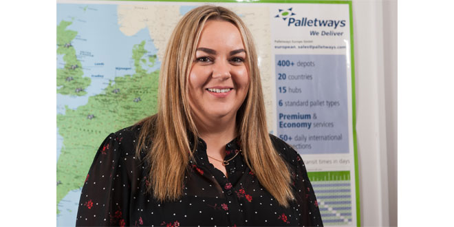 GENERAL MANAGER CELEBRATES 15 YEARS WITH PALLETWAYS IN SCOTLAND