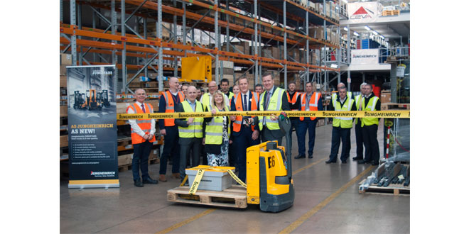 Jungheinrich launches UK based parts centre for connected customer service