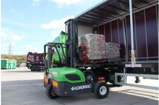 Simply Waste Solutions choose Loadmac for their truck mounted forklift solution