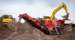 Terex Finlay Central helps company stay ahead of the game