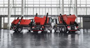 Hiab introduces MULTILIFT Futura 18 the new generation large skiploader for heavy use
