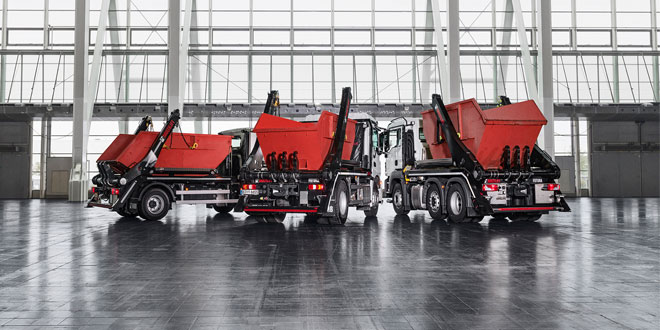 Hiab introduces MULTILIFT Futura 18 – the new generation, large skiploader for heavy use
