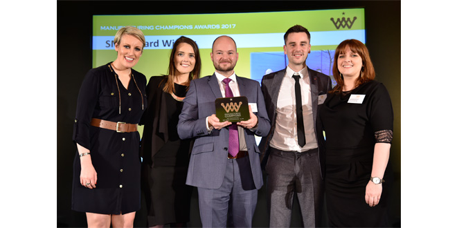 Elfab wins Manufacturing Championships Award for SME Innovation