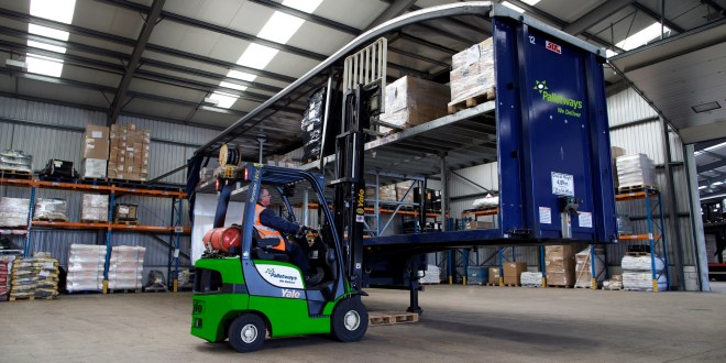 Ten percent surge in food and drinks pallet movements set to help Palletways defy consumer glo