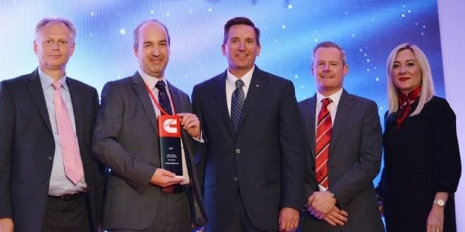 Briggs Equipment 20 year relationship with Cummins culminates in supplier innovation award