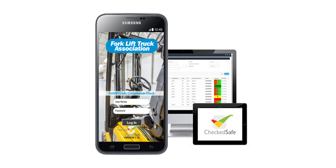 NEW APP FOR FORKLIFTS MAKES DAILY CHECKS PAPERLESS