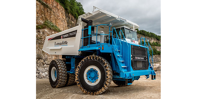 Terex Trucks' robust machines make the grade in Matlock