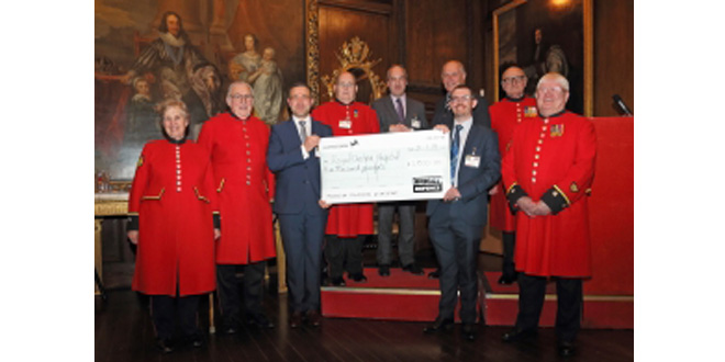 Briggs Defence staff and suppliers celebrate