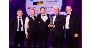 HIAB wins FLTA Environment Award with MOFFETT E-Series