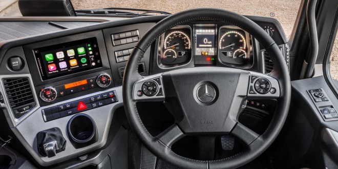Mercedes-Benz launches UK limited edition Actros1, the ultimate driver's truck
