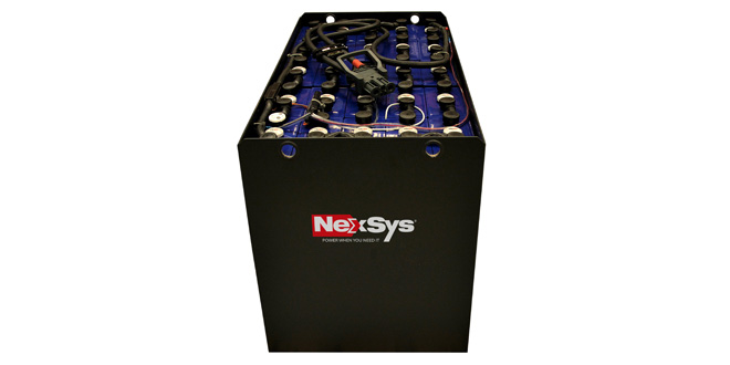 EnerSys extends NexSys® Motive Power Battery Range to benefit new set of users