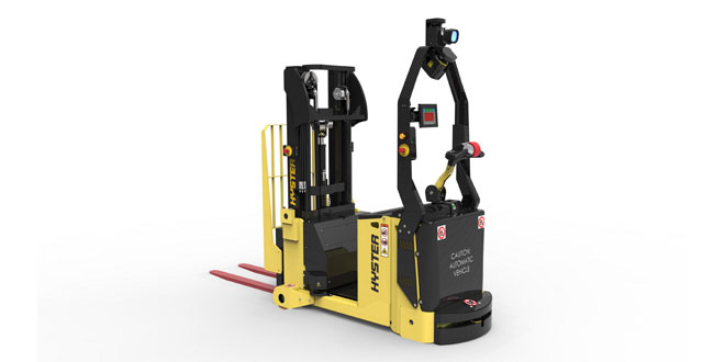 HYSTER EUROPE SHOWCASES INTRALOGISTICS CAPABILITY AT LOGIMAT 2018