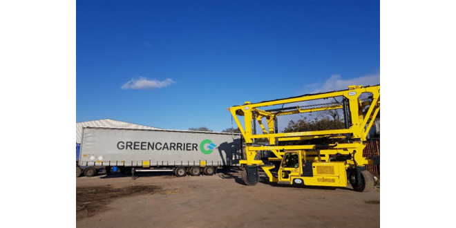 Greencarrier investing in new equipment to handle larger freight volumes and heavier cargo