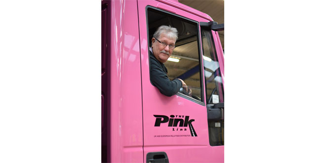 RUNNER-UP ROLAND IS THE PRIDE OF THE PINK LINK