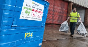 Recofloor reaches new waste vinyl flooring collection record