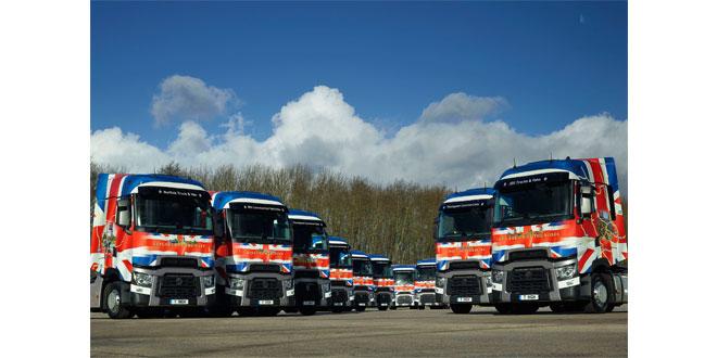 Right hand driveRenault Trucks range T High demo fleet hits the road