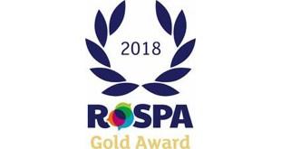 Howard Tenens Awarded Gold RoSPA Award