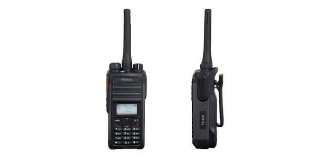 Introducing The New Hytera PD485 DMR Handset