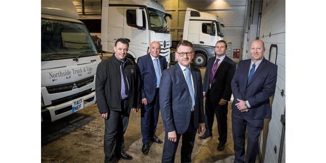 Northside Truck & Van scoops a Mercedes-Benz Trucks double