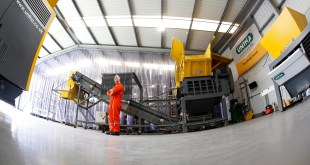 UNTHA invests in new look shredder test centre