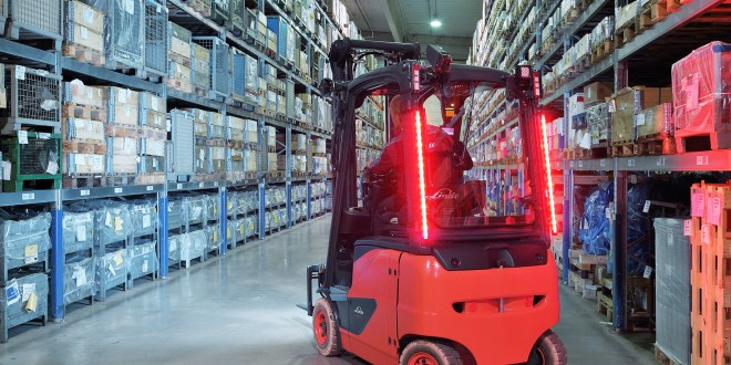 linde material handling launches new lighting products mhw magazine