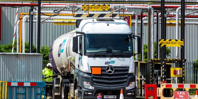 Flogas taps into Mercedes-Benz Actros safety and fuel-efficiency