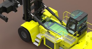 HYSTER ELECTRIC CONTAINER TRUCK IN DEVELOPMENT
