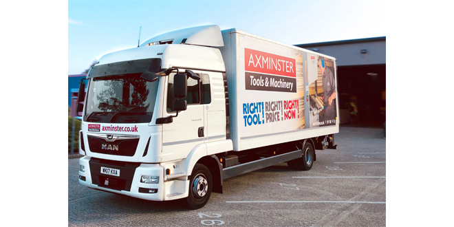 Maxoptra Maximises Service & Delivery Performance for Axminster Tools & Machinery
