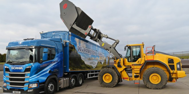 New Venture New Volvo for William Hamilton & Sons