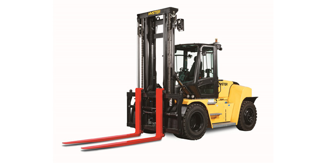 A CLEARER VIEW ON THE UPDATED 8-16T HYSTER LIFT