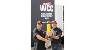 Trevor Tack to represent UK in HIAB-sponsored World Crane Championships Finals