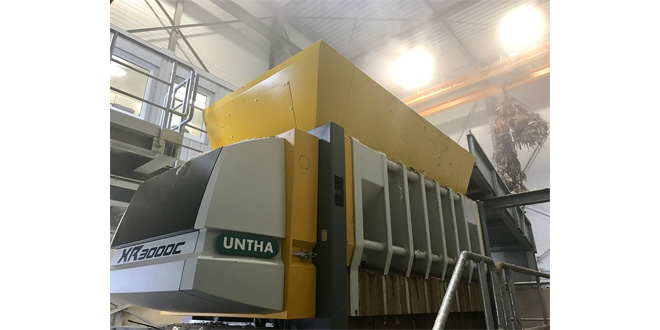 UNTHA XR shredders aid closed loop recycled paper production