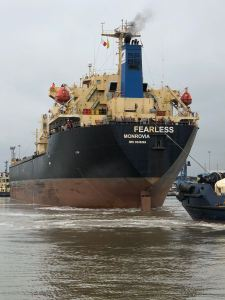 Ward Fearless leaves Wards Immingham port for Turkey