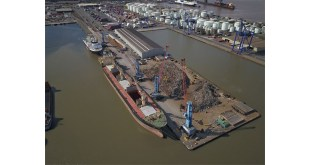 Ward ships out first 20000 tonnes of steel from its dedicated dock