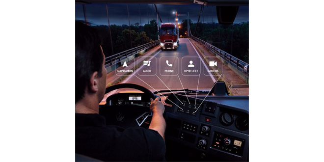 roadpad the new audio navigation & entertainment system from renault trucks