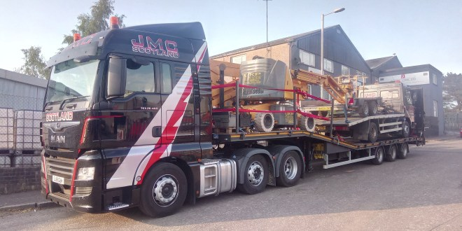 CARTWRIGHT BUILD NEW MACHINE CARRIER FOR JMC SCOTLAND