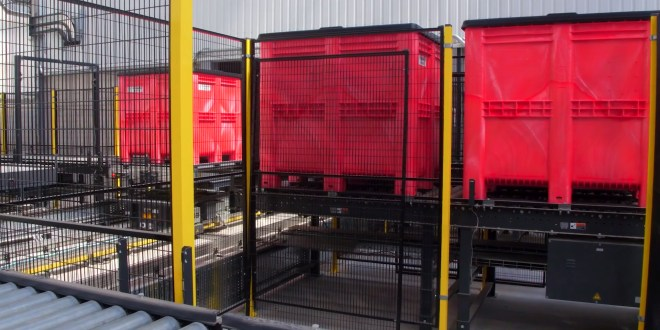 GA Pet Food Partners delighted with large-scale plastic pallet box