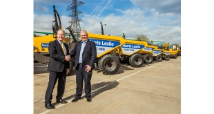 Mecalac agrees site dumper contract with Morris Leslie Plant Hire Ltd