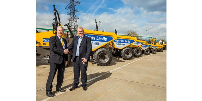 Mecalac agrees site dumper contract with Morris Leslie Plant Hire Ltd
