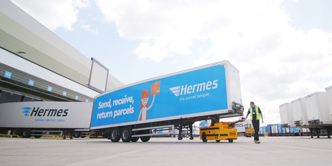 New Bradshaw PT2000 articulated trailer mover creates efficiencies at Hermes Press Release