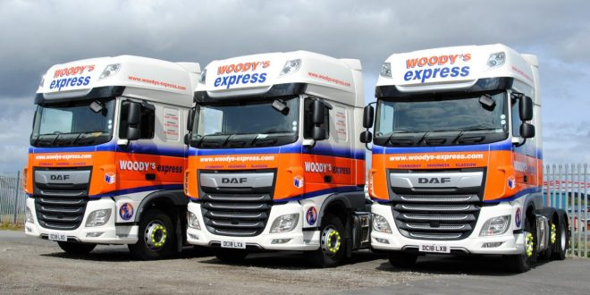 Asset Alliance wins first order from Scottish haulier Woodys Express
