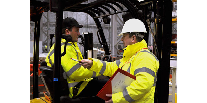 Mentor Training Before you authorise anyone to use forklifts on site